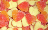 Sour Peach Hearts