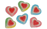 Triple Hearts Sugared